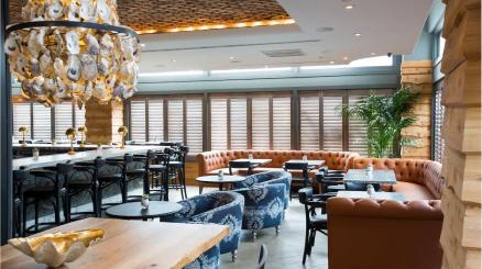 The Pearl restaurant at The Sam Houston